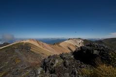 安足間岳から比布岳へ