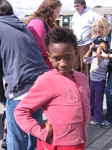 Young girl in Langa