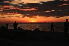 I Piran og Portoros (johannbaldvinsson) Tags: sunset slovenia piran slarlag