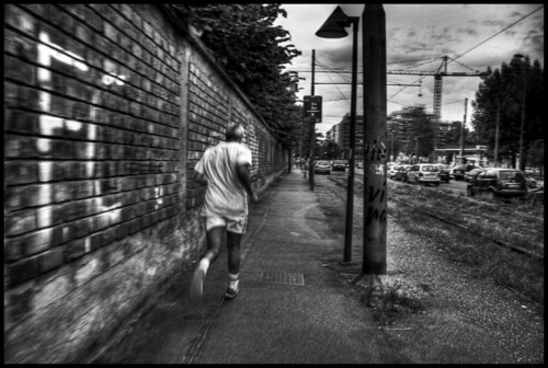 I run alone