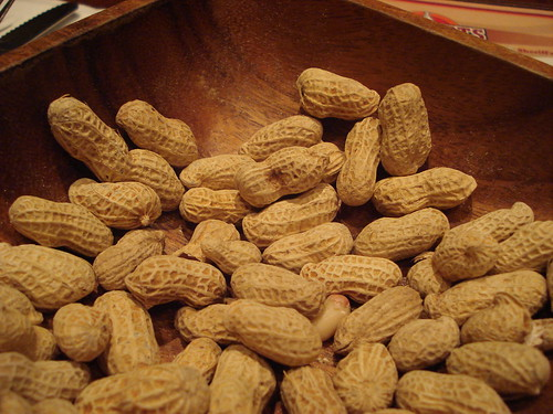 Peanuts at Texas Roadhouse Grill