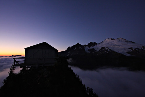 The lookout & Mount Baker