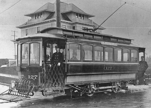 Capitol Hill electric trolley, circa 1903