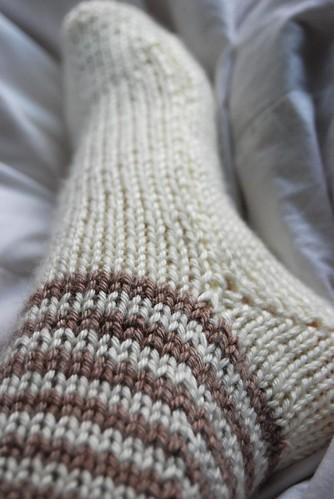 First Knitted Sock