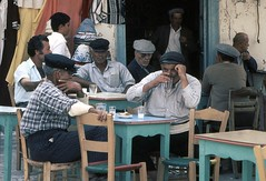 To Kafeneion - Mykonos 1975 (greekstifado - Yanni) Tags: coffee cafe greece ouzo cyclades mykonos raki kafe retsina apertif mezes tsipouro kafeneion