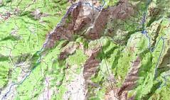 Carte Trek Basseta étape 1 (parcours Dominique Treillard en 07/2008)