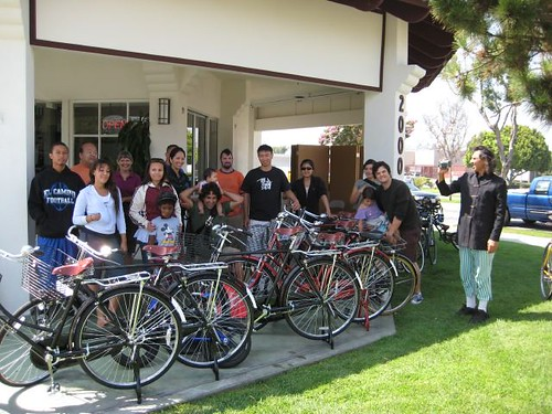 Dim Sum Ridazz! We took this group photo after last weeks ride.