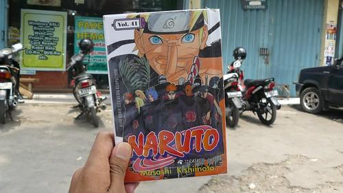 Utzimaki Naruto Cover