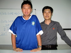 Mr Low and me