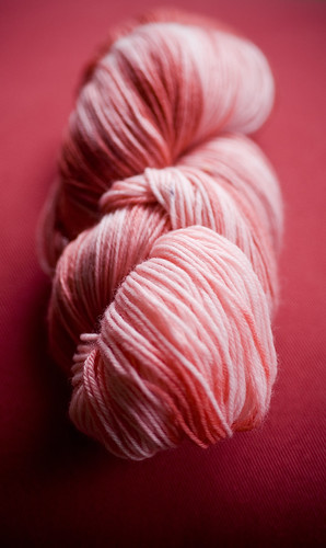 KoolAid Dyed Sock Yarn3 0908