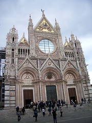Siena's Duomo built 1136-1382 (Beth M527) Tags: italy churches cathedrals unesco tuscany siena 2008 worldheritagesites housesofgod