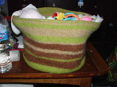 A basket for Spawns toys
