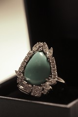 for the Economic Clusterstock of 2008  :~( (Ghadeer Q) Tags: diamonds canon turquoise ring jewellery jewel bluestone ghadeerq clusterstock economicclusterstockof2008