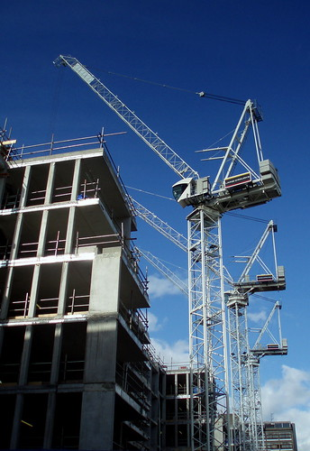 construction work, west london