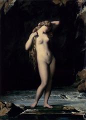 The Bather by Henri Lehmann via Femme Femme Femme