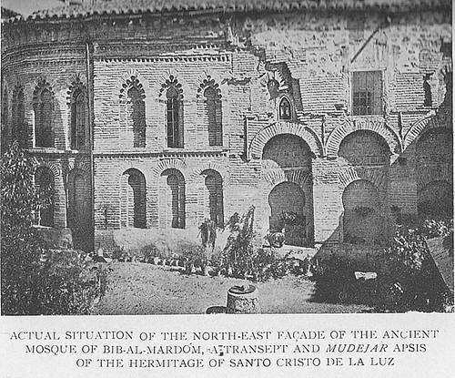 Mezquita del Cristo de la Luz (Toledo), hacia 1900
