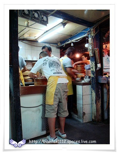 081011杭州小籠湯包02_忙碌的備餐區