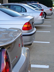 """My Lunch Break: the parking lot I must cross"" at Tysons (by: magandafille/Joanna)"