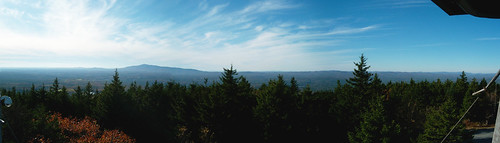 west panorama from pack monadnock