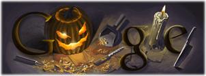 google halloween theme