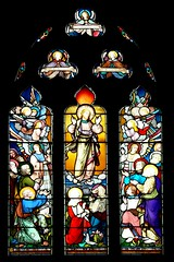 East window St. Esprit Marton