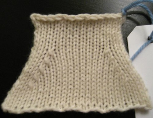 Master Knitting Level 1 Swatch 9