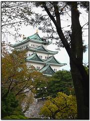 Castillo de Nagoya (nicklagun) Tags: japan nagoya shogun japon castillo edo tokugawa cruzadas