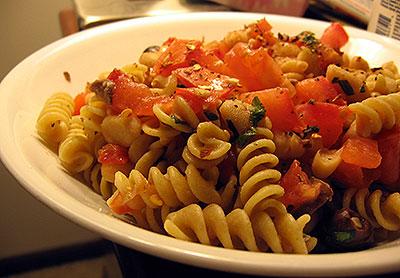 Pomodoro Pasta with White Beans