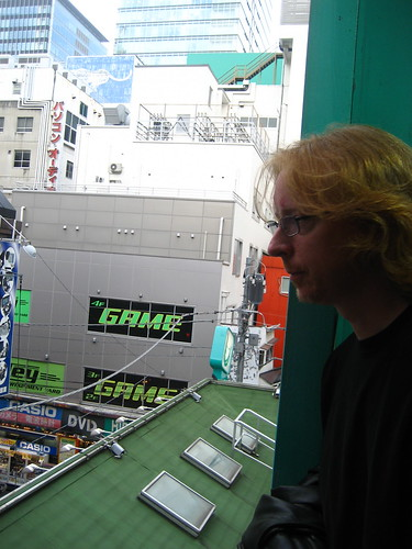 Eric overlooks Electric Town