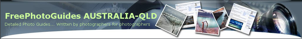 Free Photo Guides Banner QLD