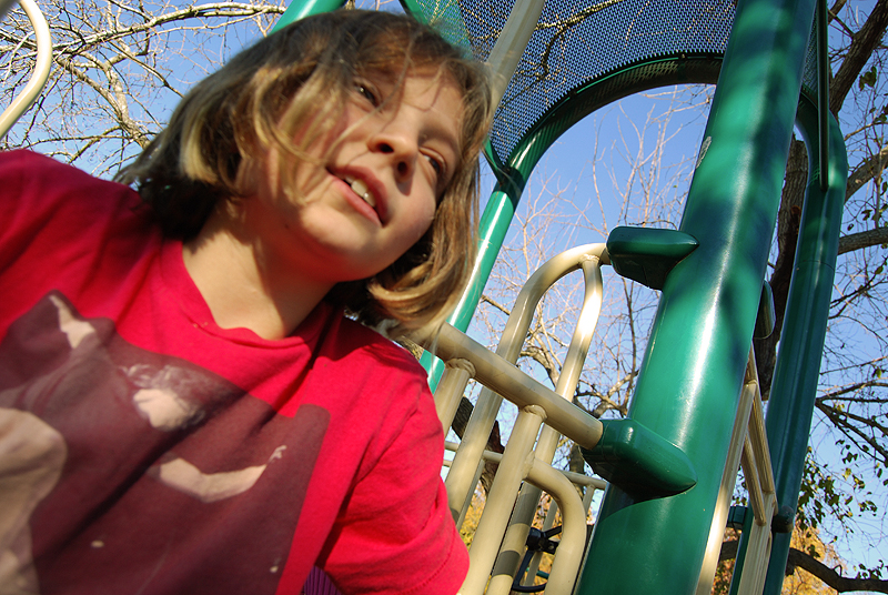Grace at the Playground