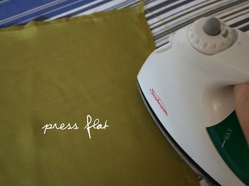 press flat