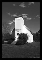 Northcutts Cove Chapel, Grundy County, Tennessee (Lynn Roebuck) Tags: blackandwhite history church architecture tn structure thechurchofjesuschristoflatterdaysaints registerofhistoricalplaces anseladamsish lynnroebuck grundycountytennessee northcuttscove northcuttscovechapel nothcuttscovechapelcemetery lynnroebuckphotography