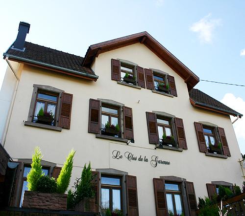 阿爾薩斯山邊的夢幻屋。Le Clos de la Garenne-Saverne-081017