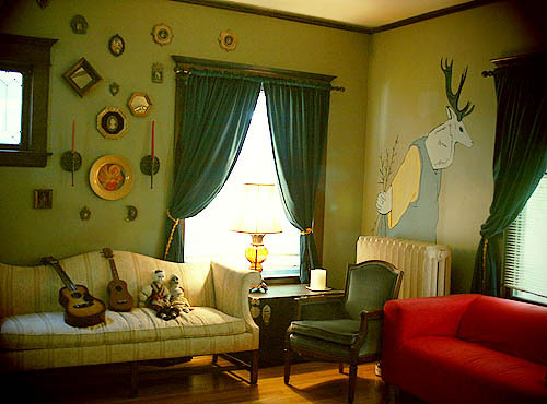 paint designs for rooms. Paint Ideas: Accenting a Green