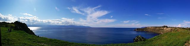 Panoramica di Capo Milazzo