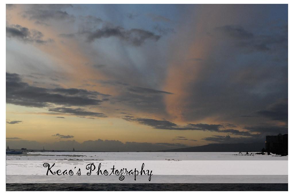 Waikiki at dusk (SOOC)