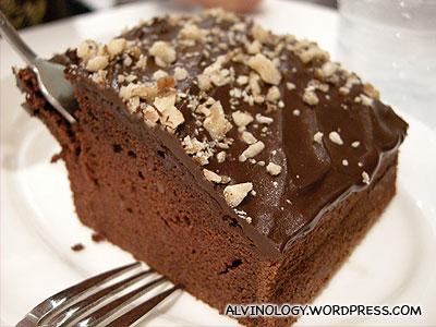 Choc Nut cake