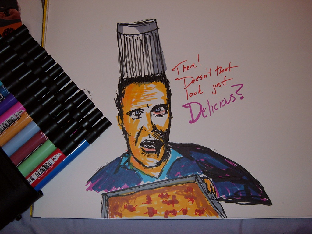 Christopher Walken and his fantabulous casserole