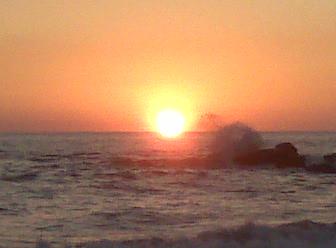 Sunset Las Rocas