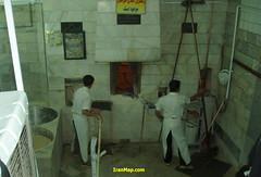 Sangak (Stone Bread) Bakery (IranMap) Tags: stone bread iran bakery tehran sangak iranphoto iranmap tehrancity iranmapcom