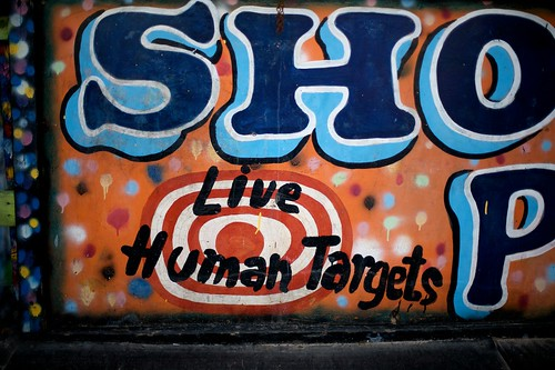 Shoot The Freak, Live Human Targets