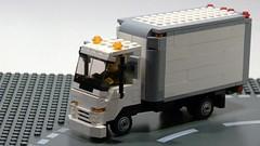 Isuzu NPR Delivery Truck