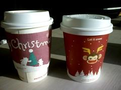 색바랜 커피컵