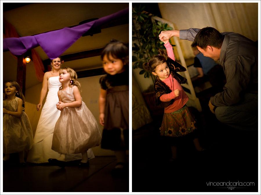 purple wedding culver events center limbo rock
