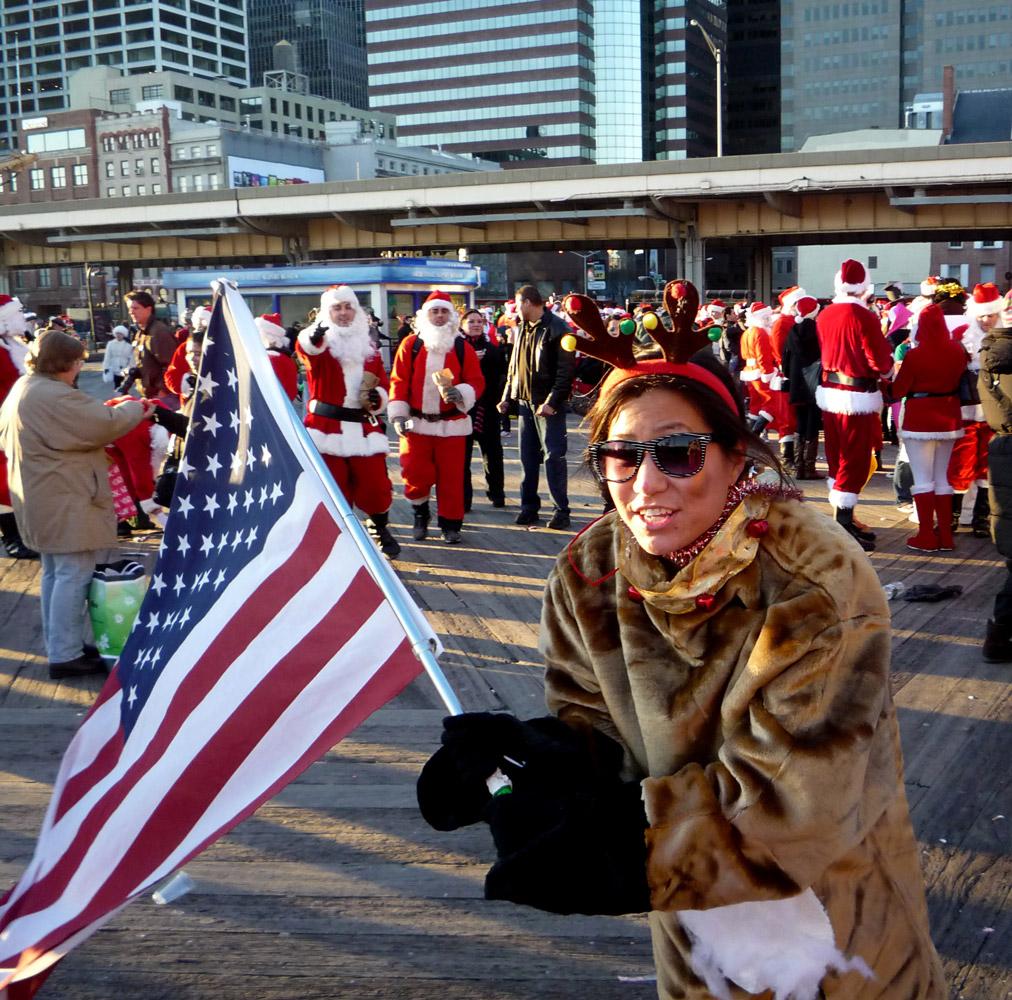 Patriotic Reindeer
