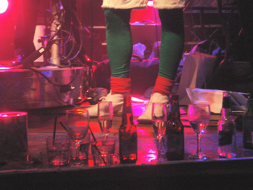 elf shoes & booze