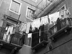 ropa tendida byn (aliciabregovic) Tags: blancoynegro venecia contrapicado ltytrx5 ltytr2 ltytr1 ltytr3 ltytr4 ltytr5 a3b fotocompetition fotocompetitionbronze olétusfotos cruzadasii cruzadasi