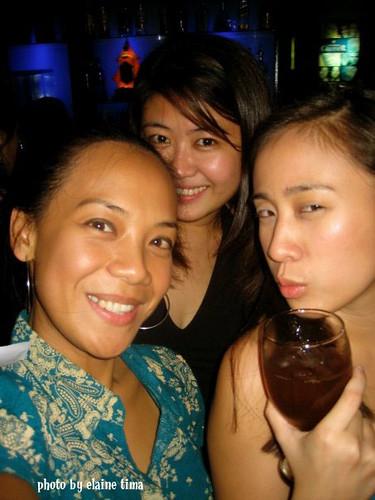 Single Ladies Elaine, Precious, and Alu