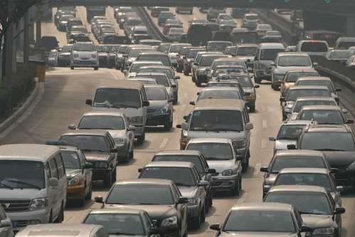Epic Chinese traffic jams caused by exploding consumer demand